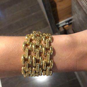 St. John link necklace / bracelet - gold